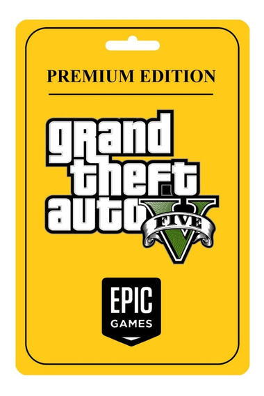 Gta 5 Premium - Pc - Original - Online / Epic Games