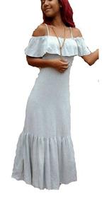 Vestido Infantil Juvenil Longo Cigana - Tamanho 06 A 10