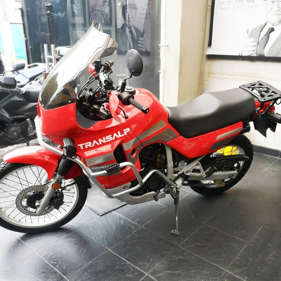 Honda Transalp Xl 600 Roja (clásico) 1992