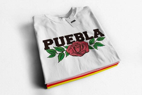 Playera De Moda Niña Y Dama Puebla Lover
