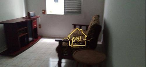 Apartamento À Venda, 56 M² Por R$ 265.000,00 - Pompéia - Santos/sp - Ap1835