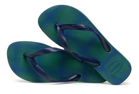 Sandálias Havaianas Chinelo Masculino Top Basic Verde Folha