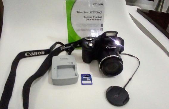 Câmera Fotográfica Semiprofissional Canon Power Shot Sx510hs