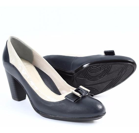 Zapato Zapatillas Bicolor Tacones Onena Juve Collection 6174