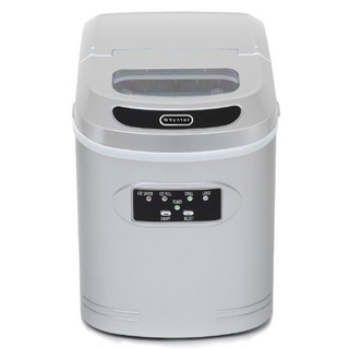 Whynter Imc270ms Compact Ice Maker, 27pound, Metallic Silver