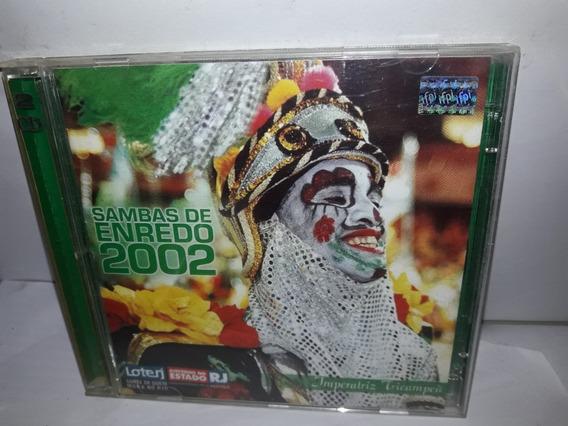 Cd Sambas De Enredo 2002 Rio Duplo Ne