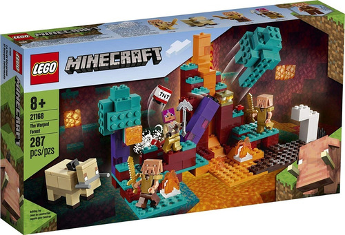 Imagen 1 de 5 de Lego Minecraft The Warped Forest Entrega Inmediata !!