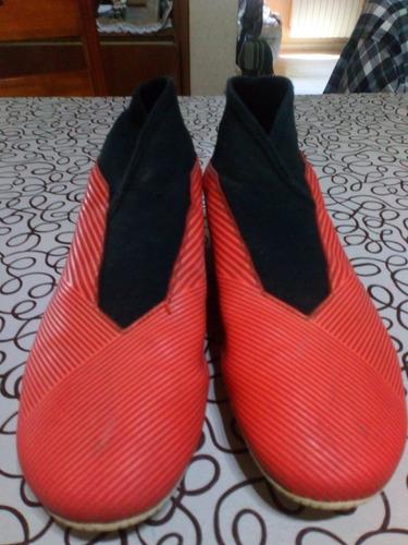 Botines adidas Nemesis Rojos Originales