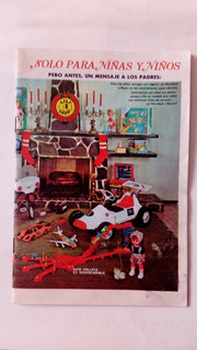 Catálogo De Juguetes Años 60 S