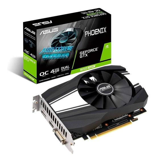 Placa de video Nvidia Asus GeForce GTX 16 Series GTX 1650 SUPER PH-GTX1650S-O4G OC Edition 4GB