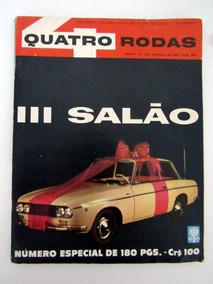 Antiguidade Antiga Revista Quatro Rodas Especial Dez 1962