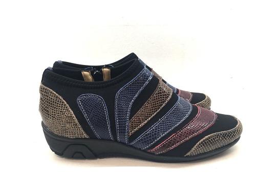 Imagen 1 de 4 de Zapato De Cuero Cómodo Para Dama Modelo 94 / Colores
