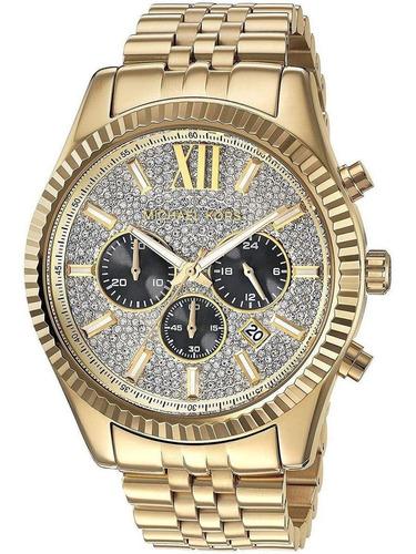 Reloj Michael Kors Hombre Clásico Mk8494 Entrega Inmediata