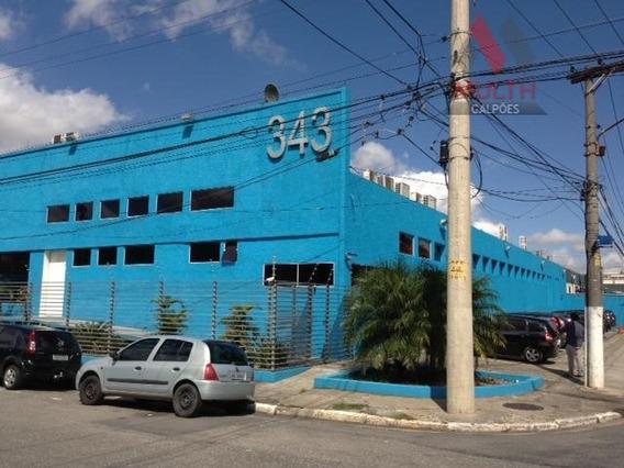 Galpão Comercial Para Locação, Vila Leopoldina, São Paulo. - Ga0270