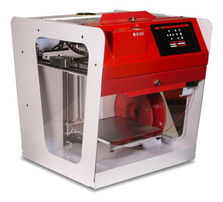 Impresora 3d Exo Fab 2x Extrusor Armada Y Calibrada