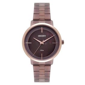 Relógio Feminino Analógico Orient Ftss0059-n1nx Marrom