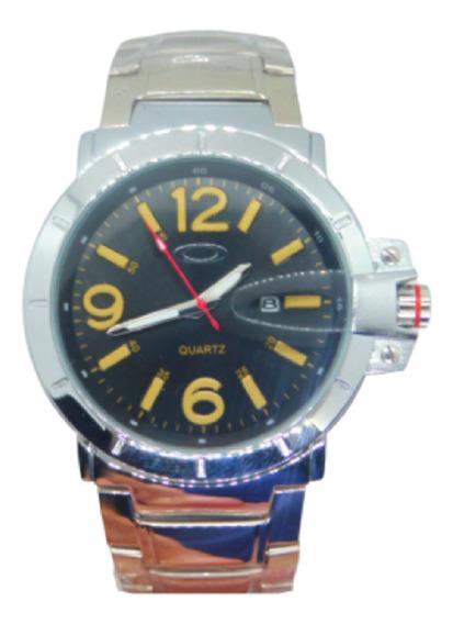 Relógio Masculino Aço Inoxidável Luxo A Prova Dágua