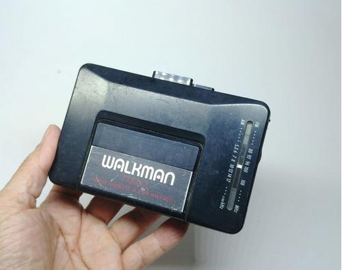 Walkman Precision Só Funciona O Radio Tape Não Funciona Raro