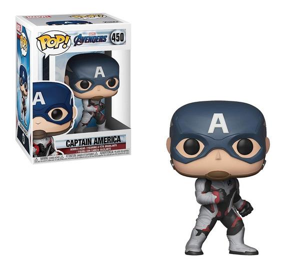 Funko Pop Avengers Endgame Cap. America #450 (en D3 Gamers)