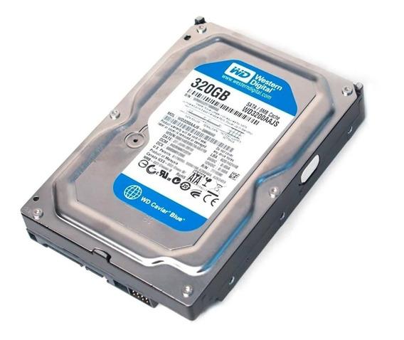 Hd Western Digital 320gb Pc Sata Ii Wd 3200 Aajs