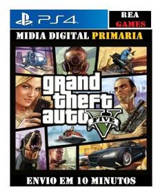Gta 5 V / Grand Theft Auto V Ps4 Original Primaria 1°