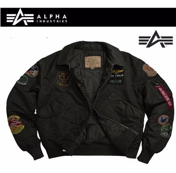 Campera Alpha Industries Cwu Pilot Aviadora Original