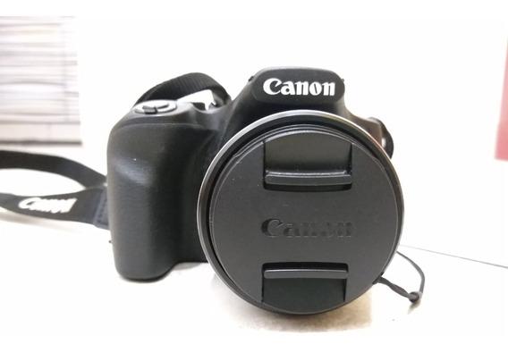 Câmera Canon Semi Profissional Powershot Sx520 Hs 16.0 Mp