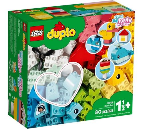 Imagen 1 de 6 de Lego 10909 Duplo Classic Heart Box - 80 Pzs