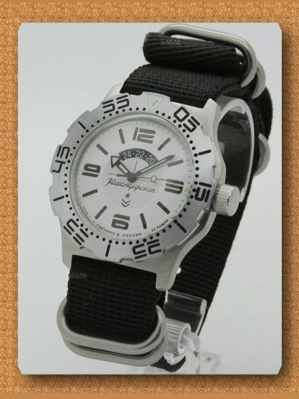 Reloj Vostok K-35 Ruso Automatico Diver 200mts Nuevo!