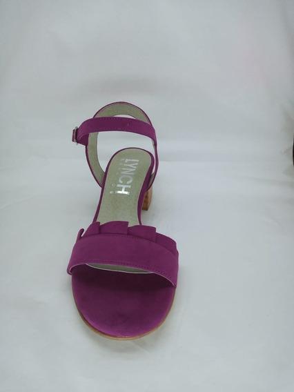 Zapato Mujer Sandalia Con Volado Lynch #404 V20