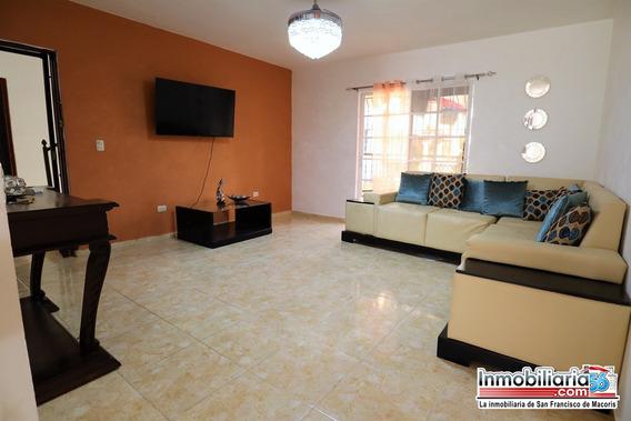 Hermoso Apartamento Amueblado En Alquiler En San Fco Macori