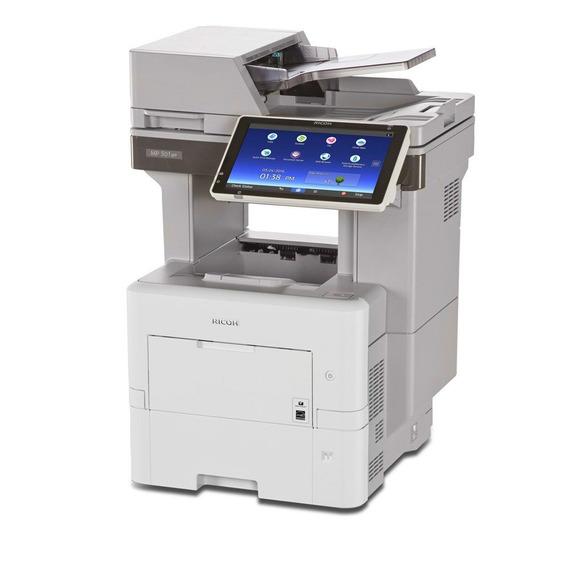 Multifuncional Ricoh Aficio Mp 501spf Laser Mono Duplex Rede