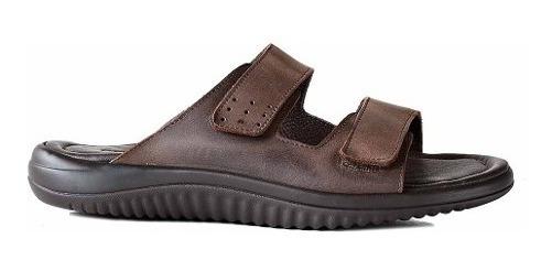 Sandalia Cuero Hombre Briganti Zapato Confort - Hcch00925
