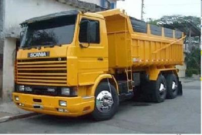 Scania 113 320 Traçado Caçamba Basculante
