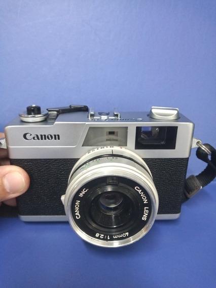 Câmera Fotográfica Analógica Canon Canonet 28 Excelente Esta