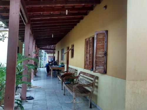 Imagem 1 de 15 de Terreno Com Casa Em Atibaia- 1.400m² - Te0166-1