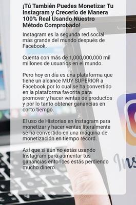 Clase De Monetisacion De Instagram