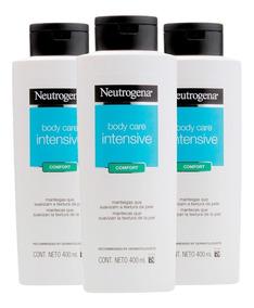 Kit Loção Hidratante Neutrogena Body Care Confort C/ 3 Uni.