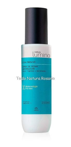 Spray P/peinar Antipolución Lumina 150ml Todo Natura Rosario