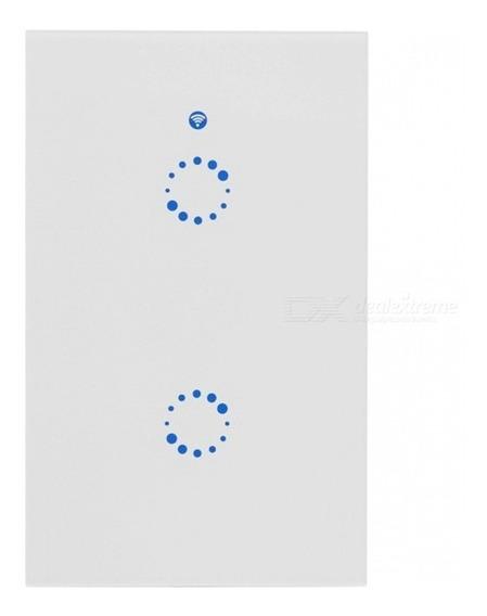 Interruptor Luz Toque Parede Sonoff T1 Smart Wi-fi 2 Gangues