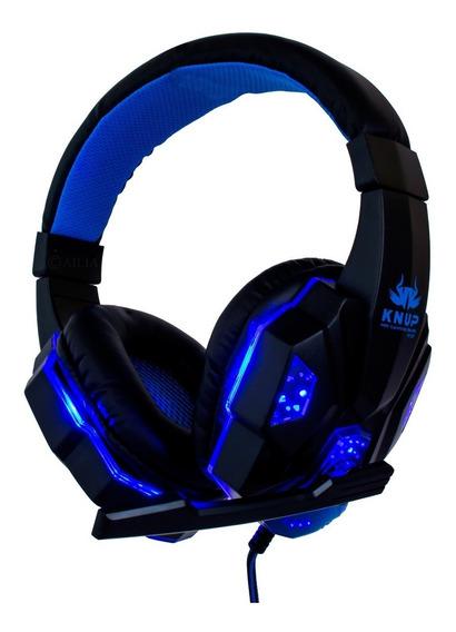 Headset P2 Gamer Pc Fone De Ouvido Knup Lançamento