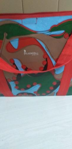 Bolso Primavera Importado Multicolor Cool Miami