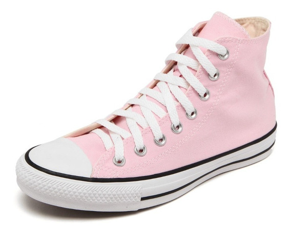 Tenis Converse All Star Ct Core Hi Bota Rosa Bb