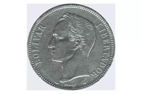 Moneda De 1 Bolivar De 1977