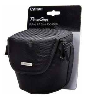 Canon PSC-1000 Gris De Lujo De Cuero Estuche Para Powershot