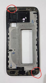 Aro Carcaça Samsung Galaxy J5 Pro Sm-j530 Com Detalhes