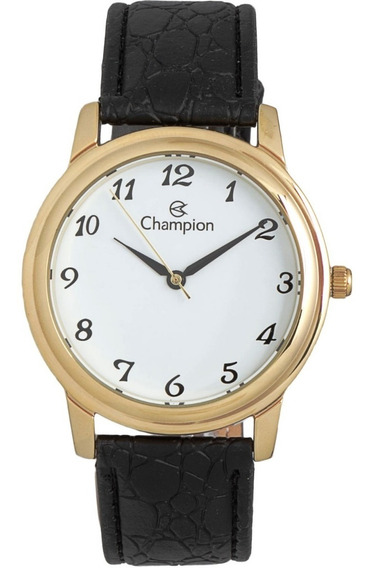 Relógio Champion Feminino Pulseira Couro Ch22153m