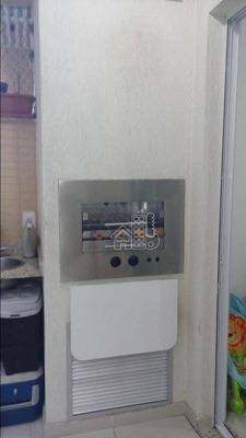 Apartamento Com 2 Dormitórios À Venda, 68 M² Por R$ 440.000 - Santa Rosa - Niterói/rj - Ap2524