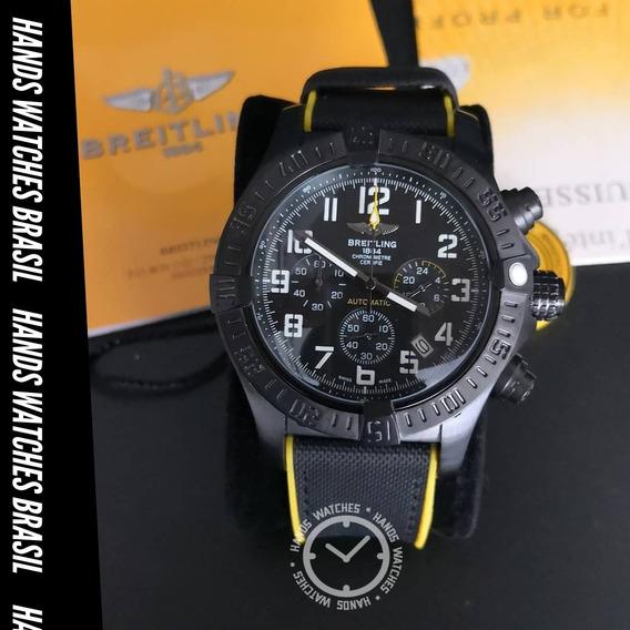 Relógio De Luxo Yellow Black Dial