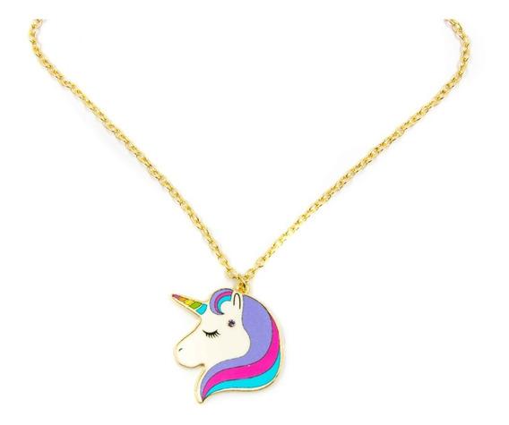 Collar Unicornio Para Niñas +6 Años 04531